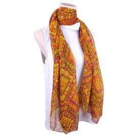 Chanel-chiffon scarf-Multiple colors