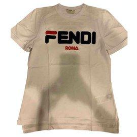 Fendi-Tops-White