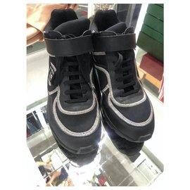 Chanel-Sneakers-Black