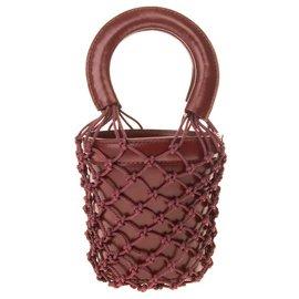 Staud-Handbags-Dark red