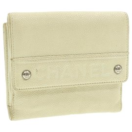 Chanel-Chanel wallet-White