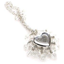 Dior-Charm de sac coeur argenté argenté Dior-Argenté