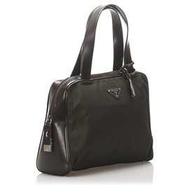 Prada-Prada Green Tessuto Handbag-Green,Dark green