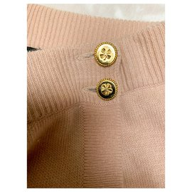 Chanel-Vintage Chanel wrap skirt in cashmere-Pink