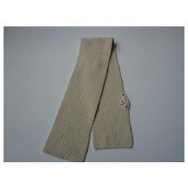 Bonpoint-Child's ecru cashmere scarf Bonpoint-Cream