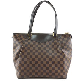Louis Vuitton-Louis Vuitton Westminster GM Damier Ebene Canvas-Brown