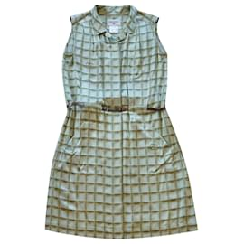 Chanel-Dresses-Light green