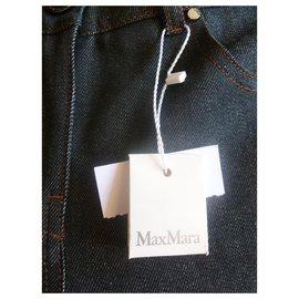 Max Mara-Jean en coton mélangé Max Mara-Noir