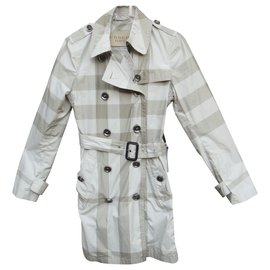 Burberry-trench léger Burberry Brit t 36/38-Gris