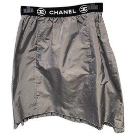 Chanel-Skirts-Black,Grey