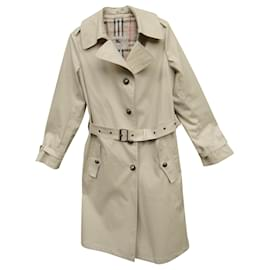 Burberry-burberry london t trench coat 12-Beige