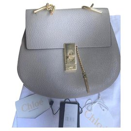 Chloé-Handbags-Grey