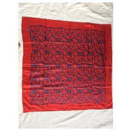Yves Saint Laurent-Snakes-Red