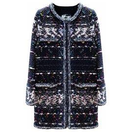 Chanel-9,5K$ sublime coat-Black
