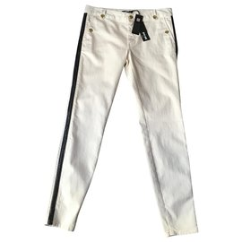 Just Cavalli-jeans-Blanc