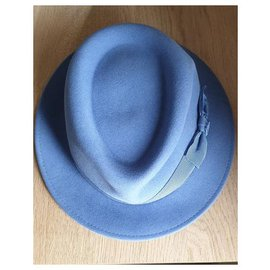 Maison Michel-Hats-Light blue