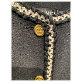 Chanel-Jackets-Black,White