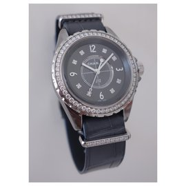 Chanel-Chanel J watch12-G.10 CHROMATIC-Grey