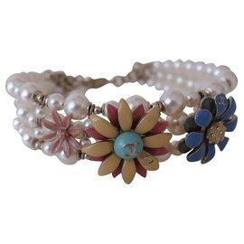 Chanel-Chanel bracelet-White,Multiple colors
