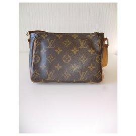 Louis Vuitton-Rare Louis Vuitton Monogram handbag.-Dark brown