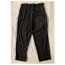 Acne-Acne Studio bohemian trousers-Black