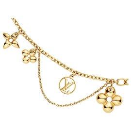 Louis Vuitton-Collier LV Blooming-Bijouterie dorée
