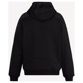 Louis Vuitton-LV Hoodie new-Black