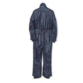 Chanel-CHANEL NAVY SKI PANTSUIT FR38-Navy blue