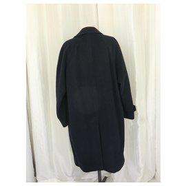 Burberry-Burberry Men's Coat XL-Navy blue