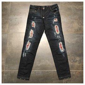 Philipp Plein-jeans-Bleu