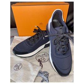 Hermès-Sneakers-Blue