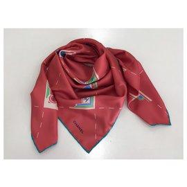 Chanel-Chanel scarf-Silvery