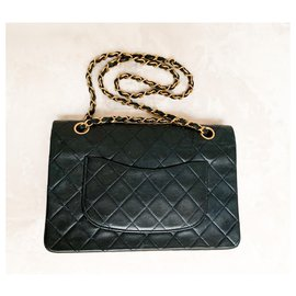 Chanel-Timeless Classique Chanel bag-Navy blue