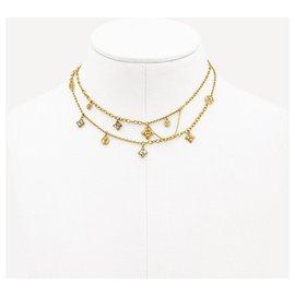 Louis Vuitton-Collier LV Blooming nouveau-Bijouterie dorée