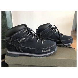 Timberland-boots-Bleu Marine