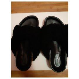 Chloé-Black Chloé mules - Size 37-Black