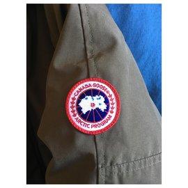Canada Goose-Jacket-Khaki