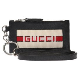 Gucci-Gucci card wallet zipped-Black