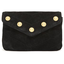 Chanel-CHEVRON BLACK JEWEL-Black,Gold hardware