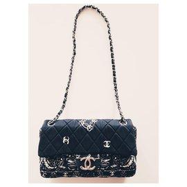 Chanel-TIMELESS-Dark blue