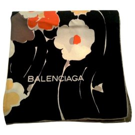 Balenciaga-Silk scarves-Multiple colors