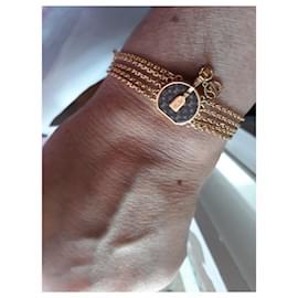Louis Vuitton-Bracelet mini LV-Doré