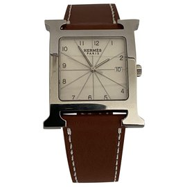 Hermès-Time H sizeM-Silvery