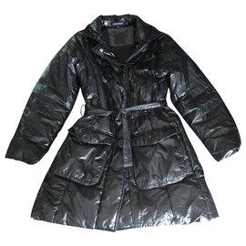 Autre Marque-Manteaux fille-Noir
