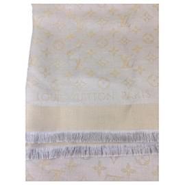 Louis Vuitton-Louis Vuitton Shine Monogram-Beige,Grey,Gold hardware