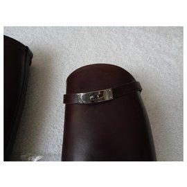 Hermès-Boots-Brown