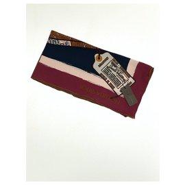 Louis Vuitton-silk foulard-Other,Bronze