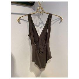 Chanel-Swimwear-Khaki