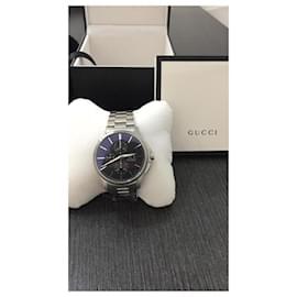 Gucci-GUCCI CHRONO AUTHOMATICH WATCH-Grey