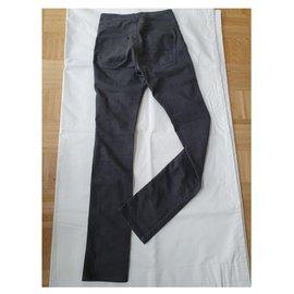 Filippa K-jeans-Gris anthracite